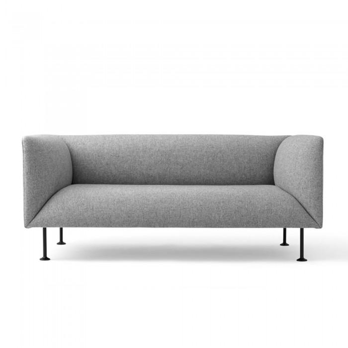 GODOT 2 seater sofa grey