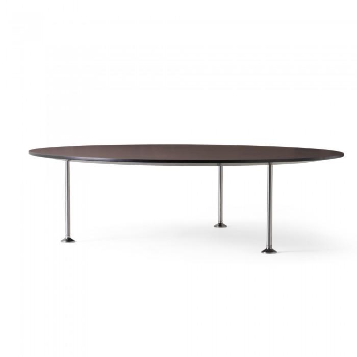Table GODOT mauve Ø120cm