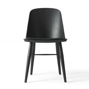 SYNNES chair black leather