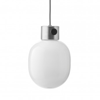 JWDA metallic pendant lamp brushed steel
