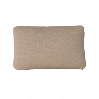 QUILT camel Cushion 40 x 25 cm