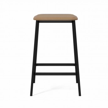 FACET Low barstool oak