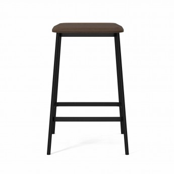 FACET Low barstool smoked oak