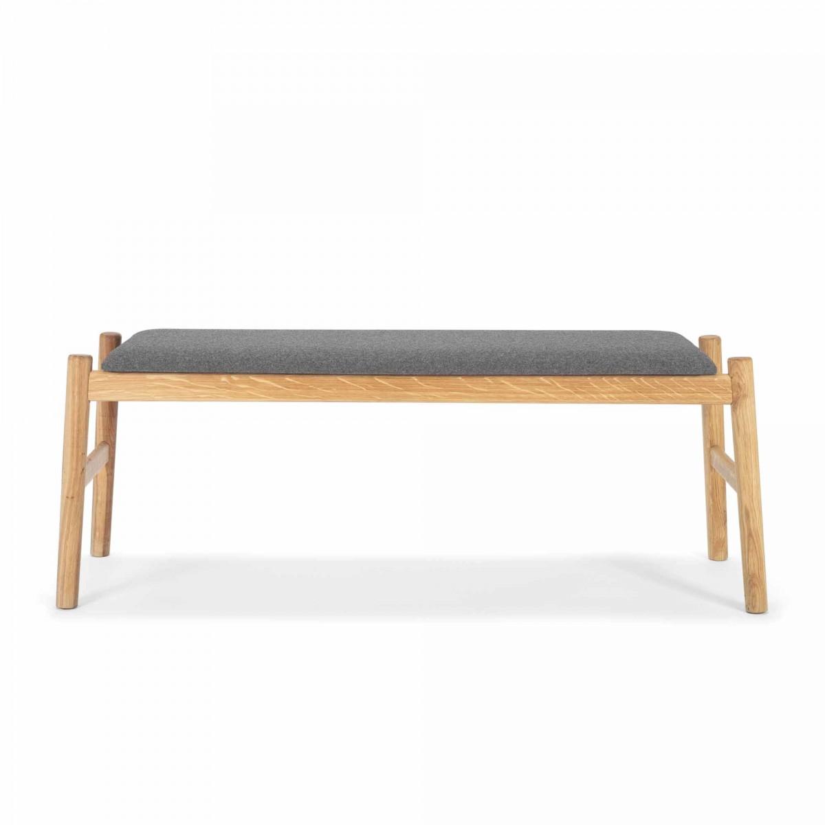 Float Bench Grey Melange Oak Bolia