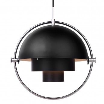 MULTI-LITE pendant white & brass