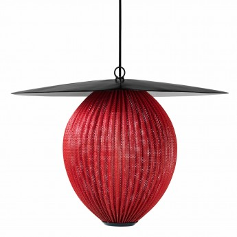 Suspension SATELLITE rouge