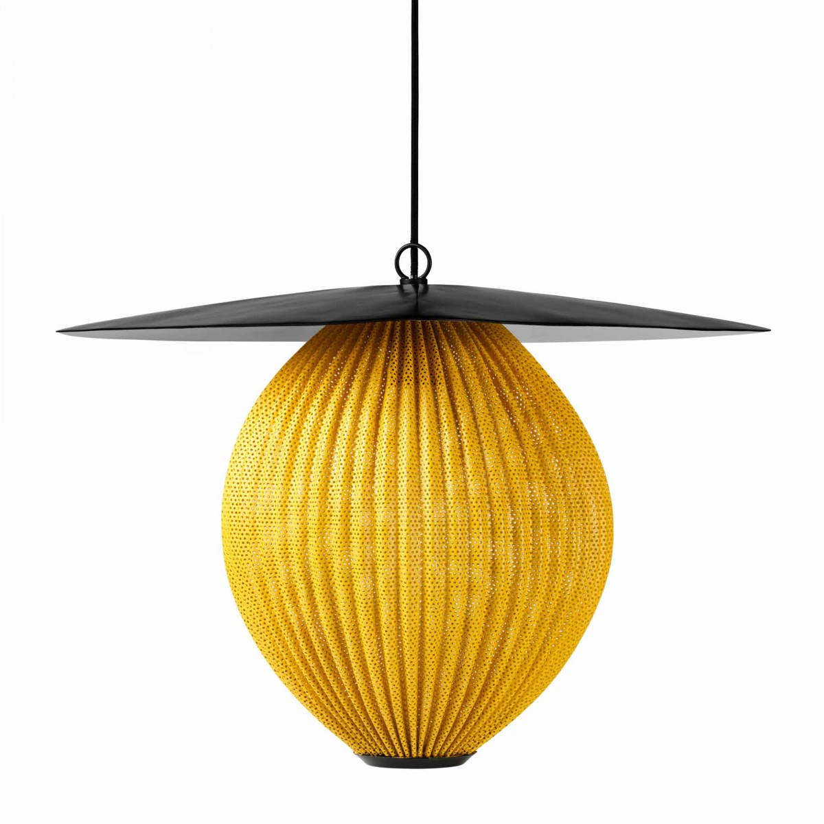 suspension satellite jaune gubi. Black Bedroom Furniture Sets. Home Design Ideas