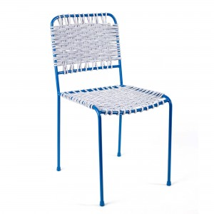 CUERDA blue chair