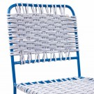 Chaise CUERDA bleu