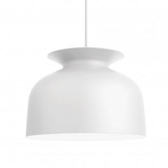 RONDE pendant L white