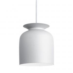 RONDE pendant S white