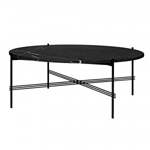 TS black marble table XL