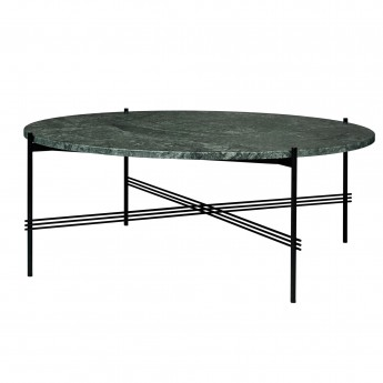 TS black marble table L