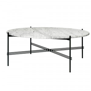 Table TS marbre blanc XL