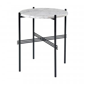 TS white marble table S