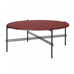 TS rusty red table L