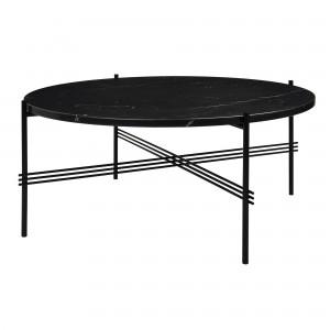 TS black marble table L