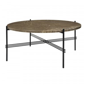 TS brown marble table L