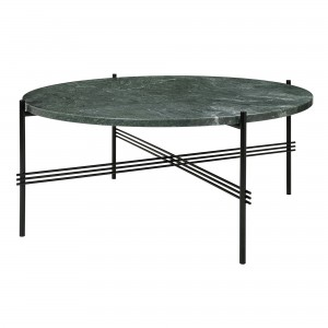 TS green marble table L
