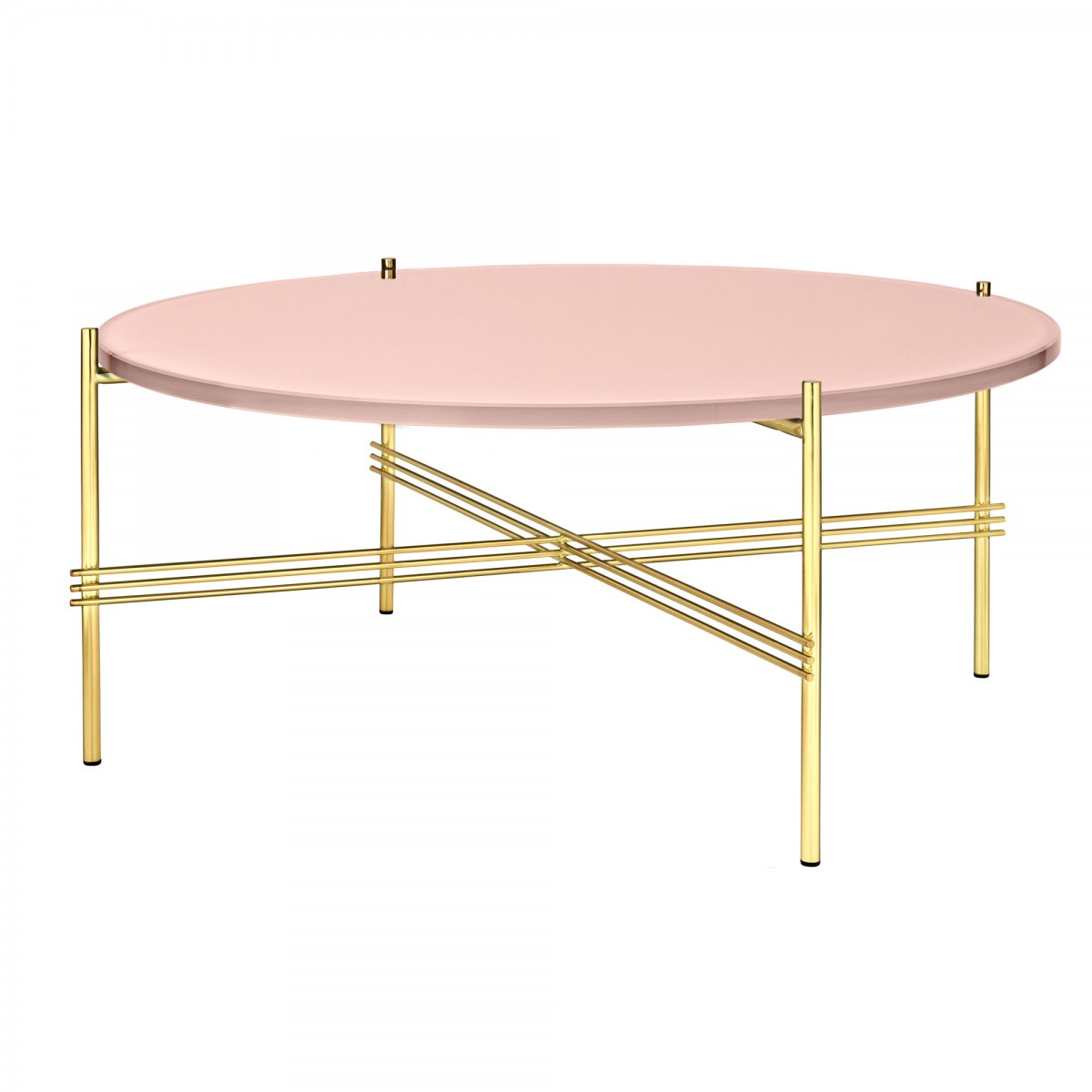 Ts Pink Brass Table L