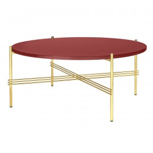 TS rusty red/brass table L