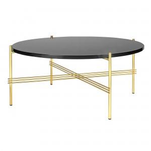 TS black graphite/brass table L