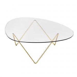 PEDRERA brass table