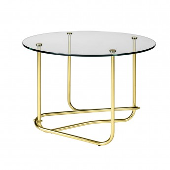 MATÉGOT coffee table - clear glass