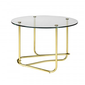 MATÉGOT coffee table - clear glass