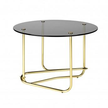 Table basse MATÉGOT - verre transparent