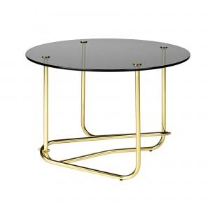 MATÉGOT coffee table - smoked glass