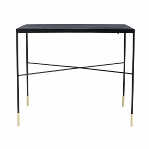 Table d'appoint OX fer gris