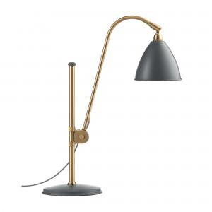 Lampe de table BESLITE BL1 laiton/gris