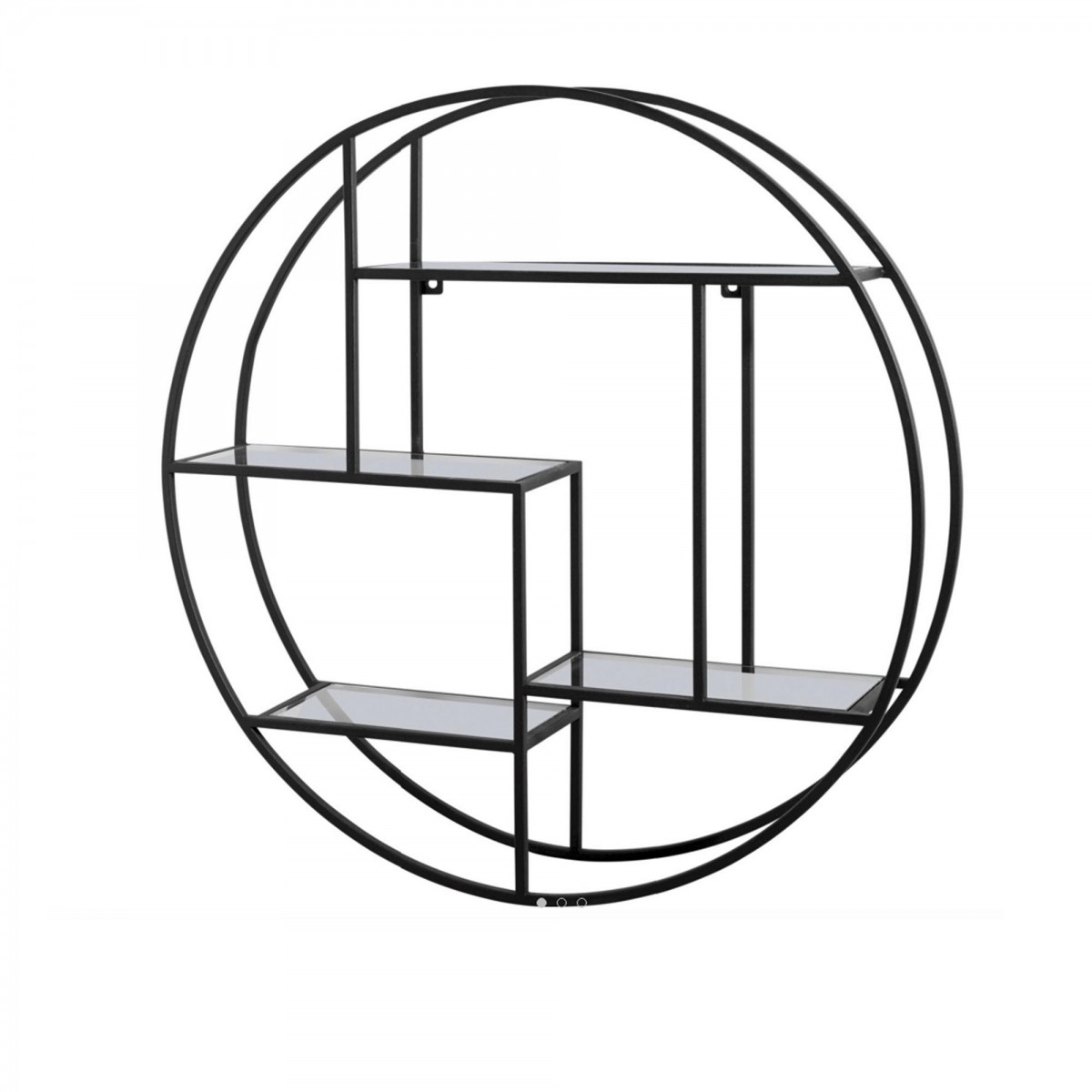 Circular shelf diam m bolia Etagere murale ronde