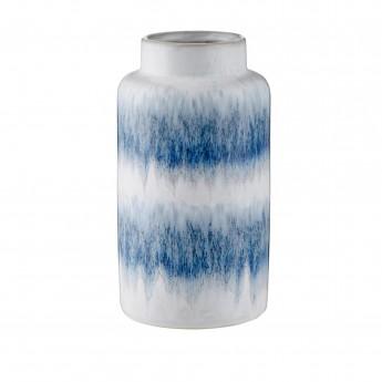 Grand vase Mezzanotte bleu/gris