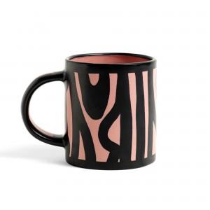 Mug WOOD rose