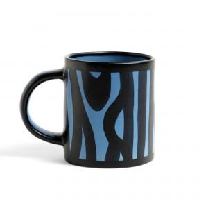 Mug WOOD bleu roi