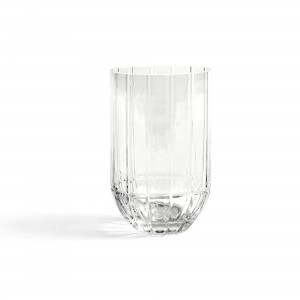 Vase COLOUR transparent M