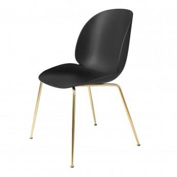 Chaise BEETLE - noir/laiton