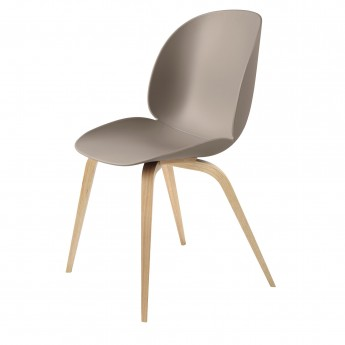 BEETLE dining chair - beige & oak