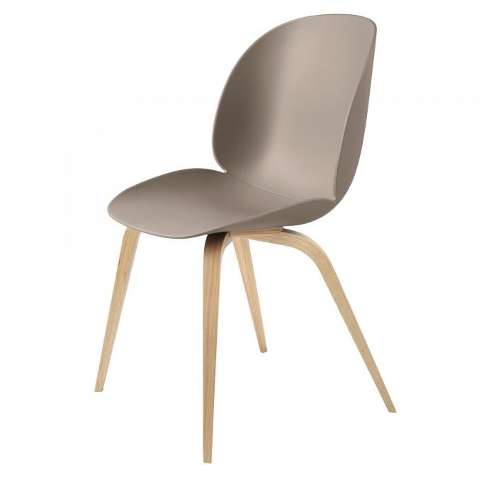 BEETLE dining chair - beige & oak