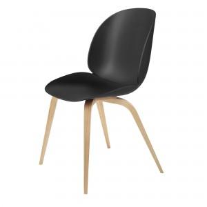 Chaise BEETLE - noir & chêne