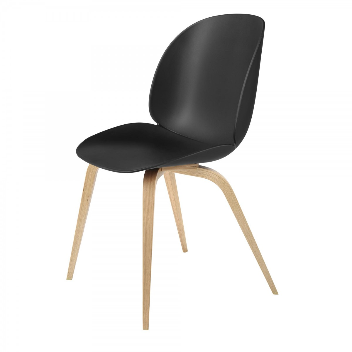 BEETLE dining chair black amp oak Gubi : beetle dining chair black oak from www.moncolonel.fr size 1200 x 1200 jpeg 59kB