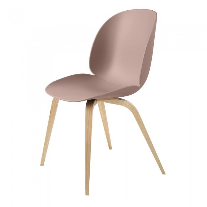 BEETLE dining chair - pink & oak