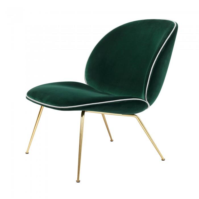 BEETLE armchair - Blue velvet