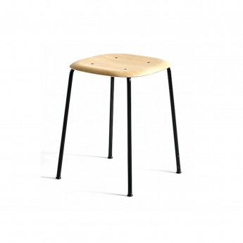 SOFT EDGE stool 70 black