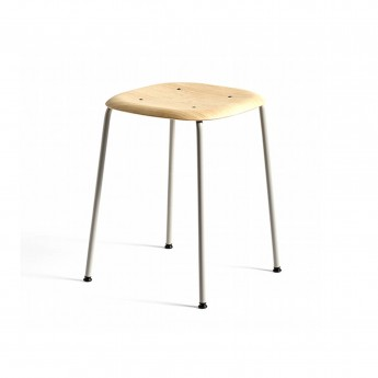 SOFT EDGE stool 70 grey