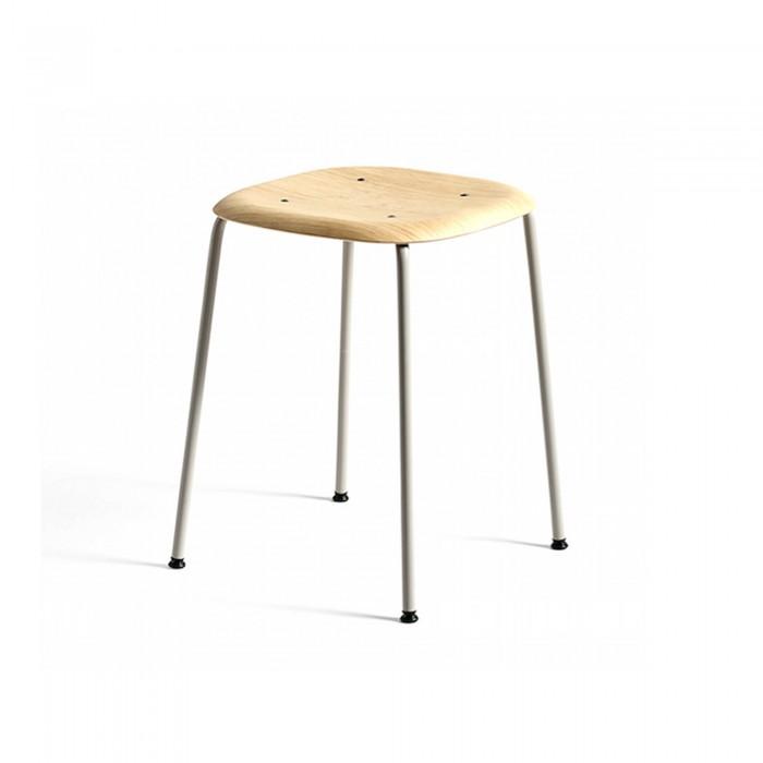 SOFT EDGE stool 70 grey
