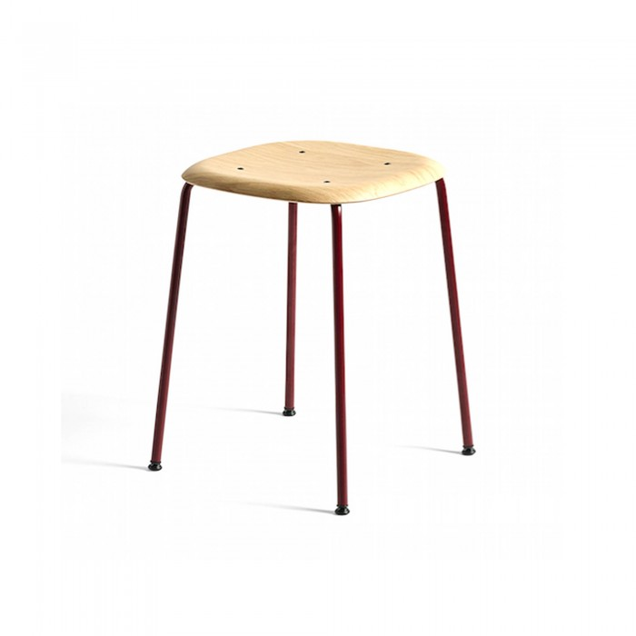 Tabouret SOFT EDGE 70 rouge