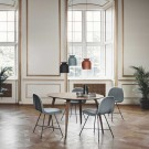 GUBI round dining table black